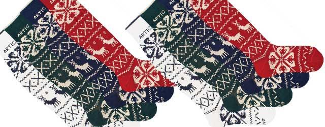 Tutta la fantasia delle calze Gallo nell'allegria delle feste