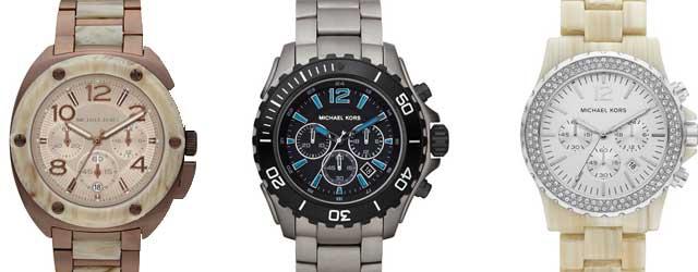 Gli orologi urban style di Michael Kors