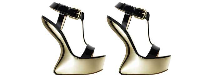 Le scarpe senza tacco di Giuseppe Zanotti Design