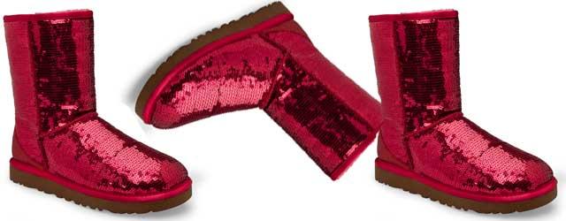 Gli stivali Ugg diventano romantici