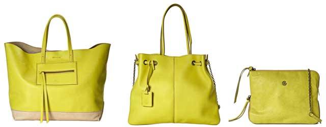 Giallo lime per le borse di Elena Ghisellini