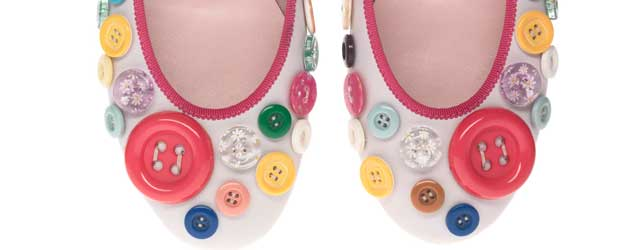 Camminiamo sui bottoni con Pretty Ballerinas