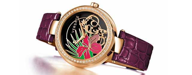 L'ora secondo Versace