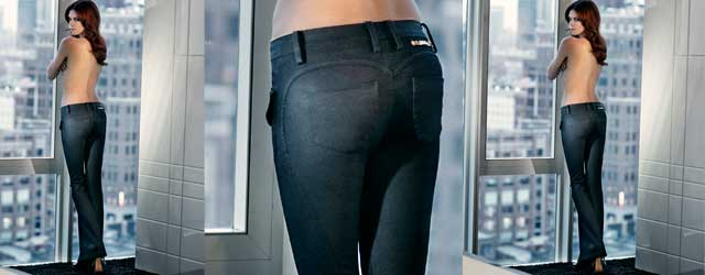 La sensualityà dei Jeans Lerock