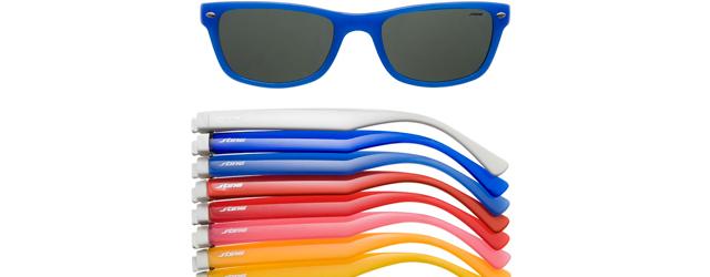 Sting presenta gli occhiali ecologi