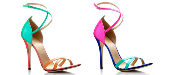 Stuart Weitzman e le calzature super colorate