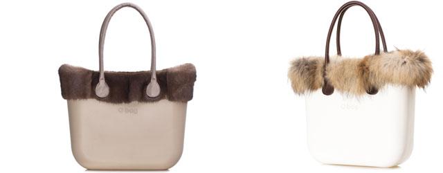 La borsa Obag by fullspot si veste d'inverno