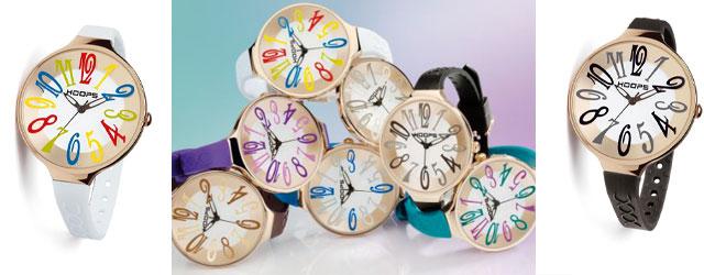 La pazzia delle ore con gli orologi Hoops