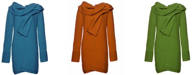 Colori vitaminici per i cappotti naturali di Jiulia Garnett