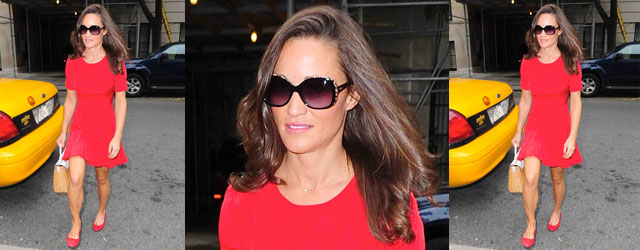 Il look fragolona di Pippa Middleton
