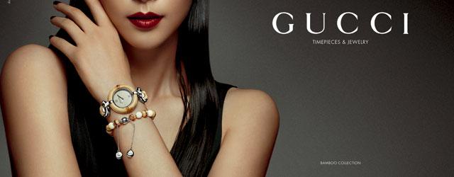 Gucci Timepieces & Jewelry presenta la nuova collezione Bamboo in collaborazione con Li Bingbing