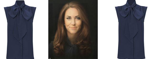 Svelato lo stilista della blusa indossata da Kate Middleton nel celebre ritratto