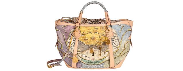 La prima collezione di borse creata da Guglielmo Mariotto in collaborazione con Nannini