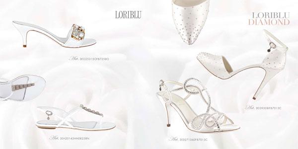 b6daec4158961 Loriblu presenta la collezione scarpe sposa