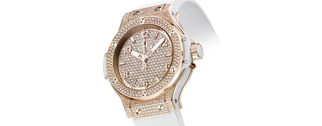 Big Bang Gold White Full Pavé di Hublot l'orologio di diamanti più prezioso