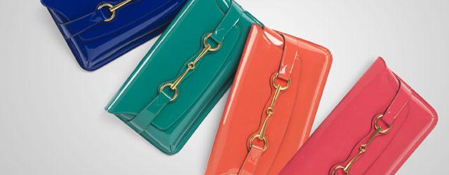 Le nuove linee di borse Bright Bit di Gucci per la p/e 2013