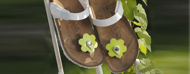 Il colore e l'allegria delle calzature Tofino di Birki's