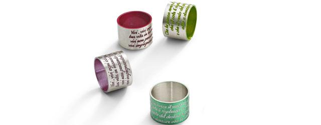 Gli anelli totalmente personalizzabili di Ego You