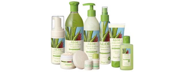 La linea all'Aloe di Bottega Verde