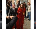 Anna Tatangelo in Krizia per le nozze di Valeria Marini