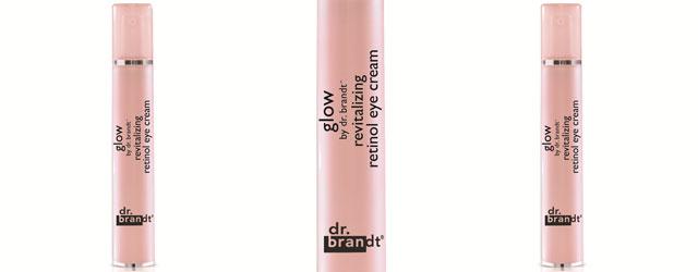 Contorno occhi da star con il Revitalizing retinol eye cream Glow by dr. Brandt
