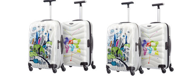 Samsonite Cosmolite e Firelite Limited Edition