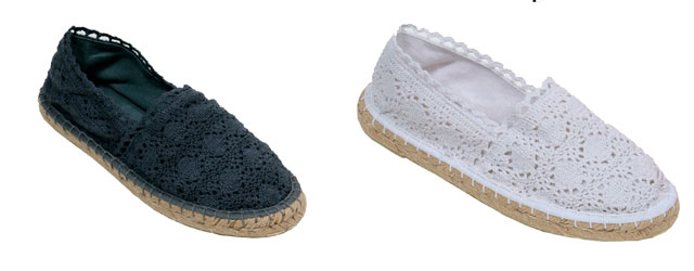 Colors of California presenta le espadrillas in macramé