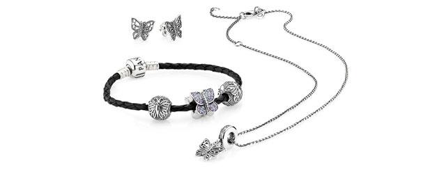 Pandora, punta tutto sulle ali della farfalla