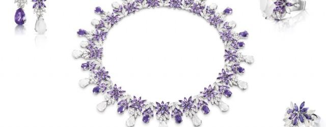 La meravigliosa ghirlanda Violet di Pasquale Bruni