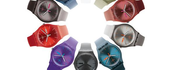 Swatch reinventa la Swatch New Gent Collection