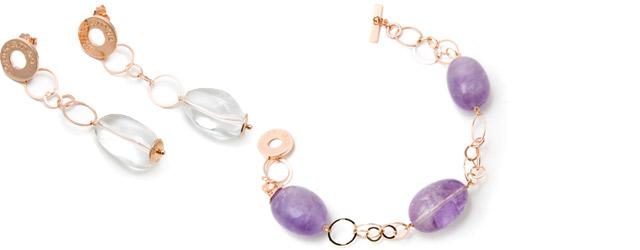 Argento e pietre preziose per Ippocampo jewels