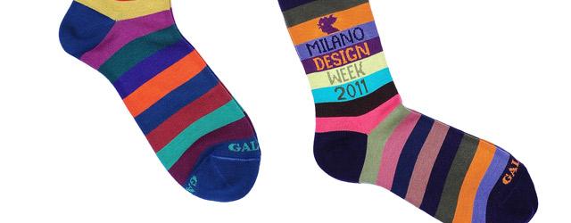 La calza design di Gallo