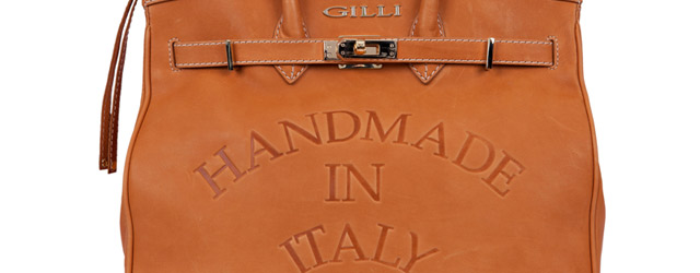 Gilli e la borsa Handmade in Italy