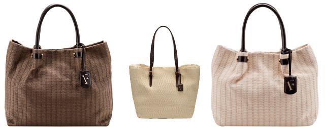 Le borse naturali di Furla