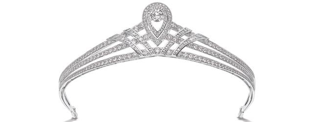 Sognare di essere principesse con i gioielli in platino