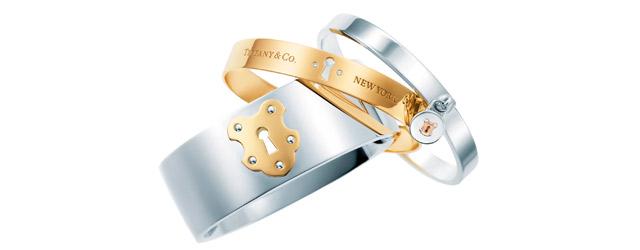 Il vostro pegno d'amore esprimetelo con un bracciale Tiffany