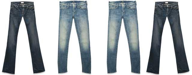 Jeans morbidi come il cachemire:Mother Denim ci fa sognare